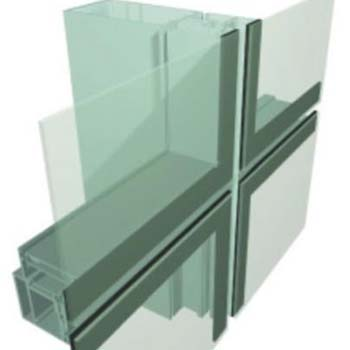 广亚铝材 幕墙铝材