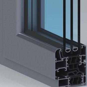 材料商城,门窗/纱窗/通风器,断桥隔热铝合金门窗,铝合金门窗70系列