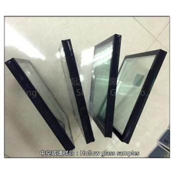 5白玻钢化+9A结构胶+5白玻钢化     钢化中空玻璃